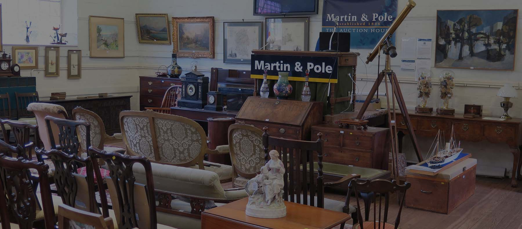 Antique Auctions Martin Pole Estate Agents Wokingham Earley