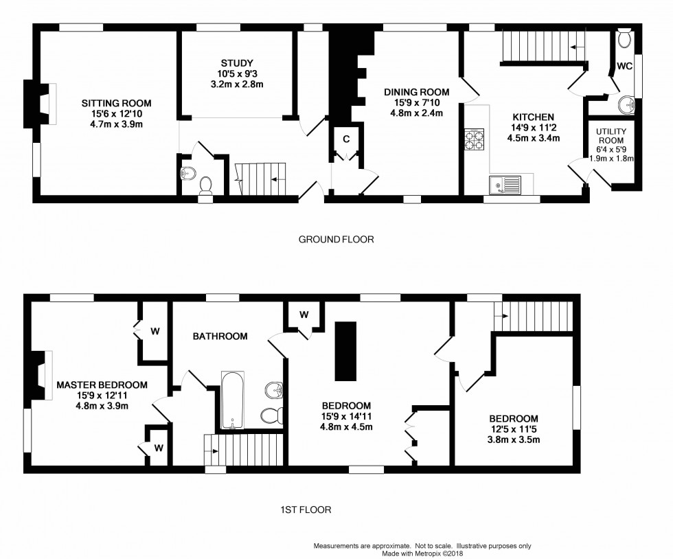 Floorplan for Paley Street, Maidenhead