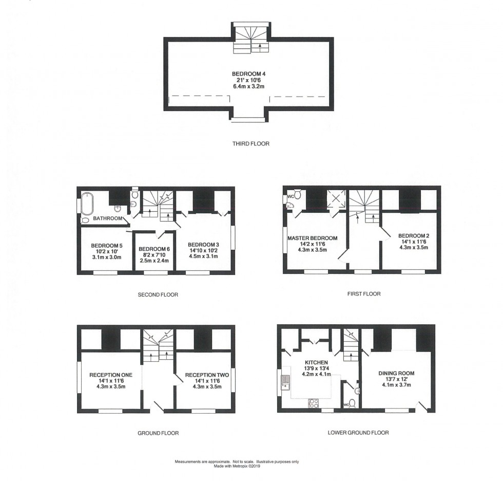 Floorplan for Wingmore Lodge, 2 Rose Street, Wokingham