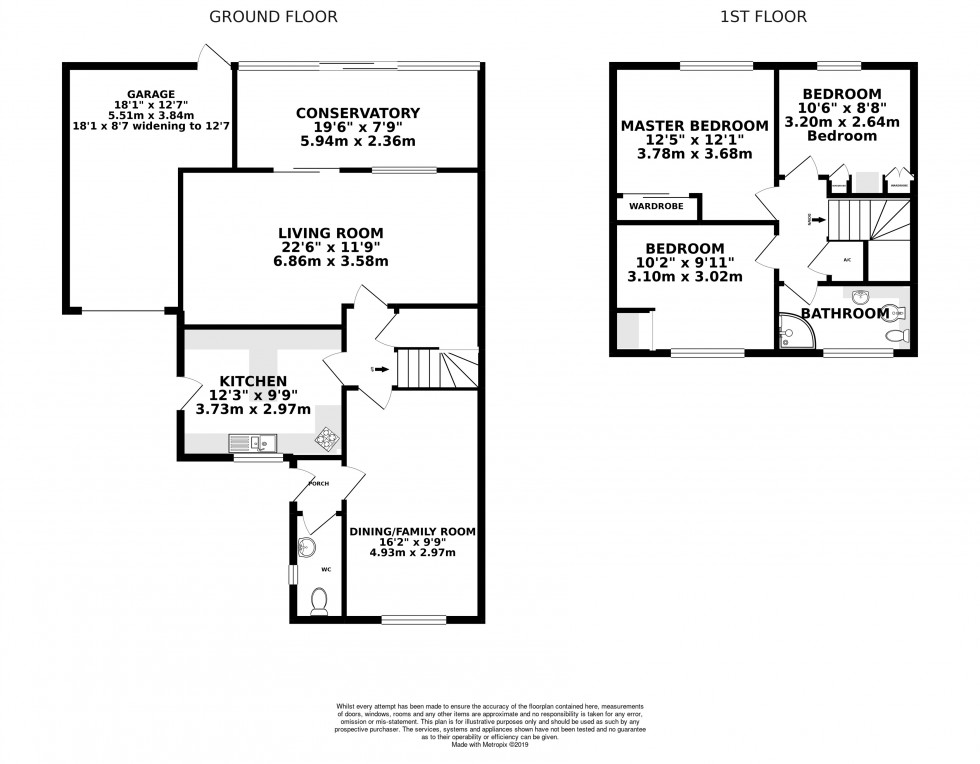 Floorplan for Limmer Close, Wokingham