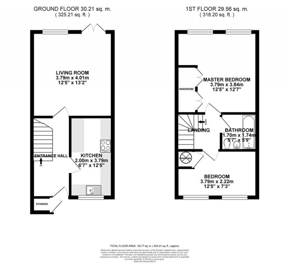 Floorplan for Dodsells Well, Wokingham
