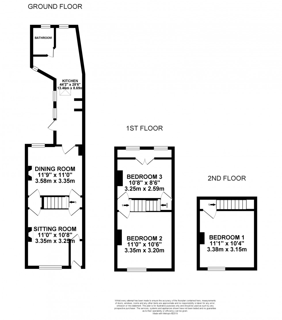 Floorplan for Bridge Street, Abingdon