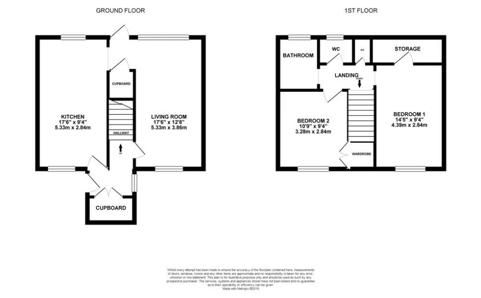 Floorplan for Hill Road, Arborfield, Reading