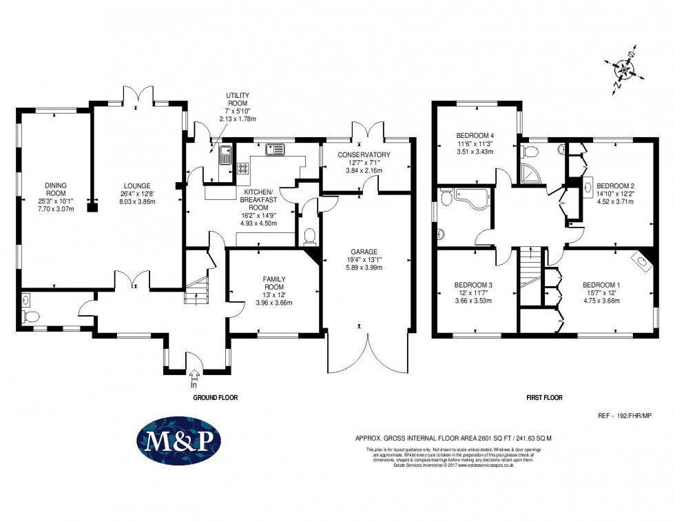 Floorplan for Finchampstead Road, Wokingham