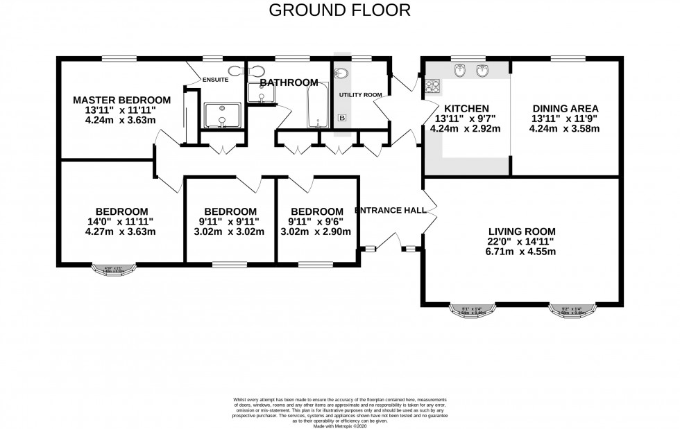 Floorplan for Brookers Hill, Shinfield, Reading